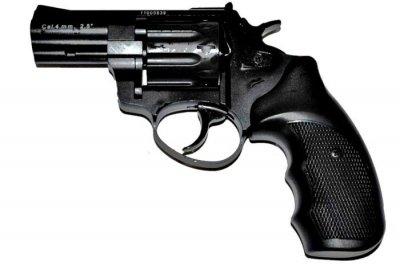"Револьвер под патрон Флобера STALKER 2,5"" S черн. рук."