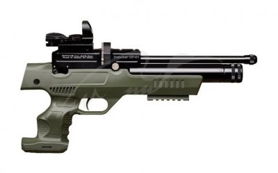 Пістолет пневматичний Kral NP-01 PCP 4.5 мм ц: olive