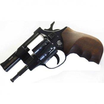 """Револьвер під патрон Флобера Weihrauch HW4 2,5"""" з дерев'яною рукояттю"""
