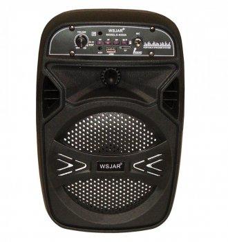 Портативная Bluetooth колонка WSJAR E6333A, черная