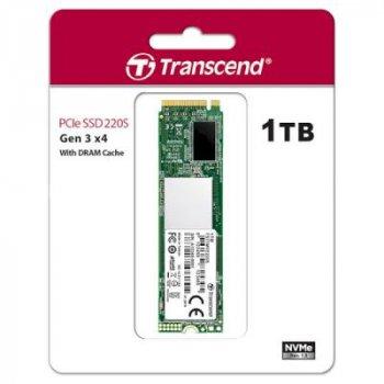 Накопичувач SSD M. 2 2280 1TB Transcend (TS1TMTE220S)