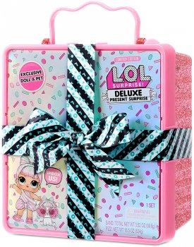 Игровой набор с эксклюзивной куклой L.O.L. Surprise! серии Present Surprise - Суперподарок Розовый (570691)(6900006553453)