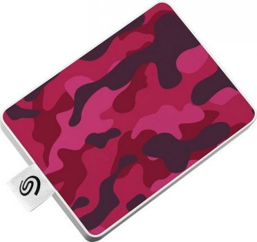 "Seagate One Touch Special Edition SSD 500GB 2.5"" USB 3.0 Camo Red (STJE500405) External"