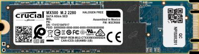 Crucial MX500 1TB M.2 2280 SATAIII 3D NAND TLC (CT1000MX500SSD4)