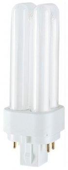 Люмінесцентна лампа OSRAM Dulux D 26W 1800Lm 4000К 220V G24d-3 (4050300020303)