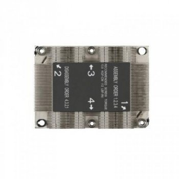 Радіатор для сервер Supermicro SNK-P0067PS/LGA3647/1U Passive (SNK-P0067PS)