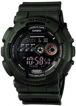 Чоловічі годинники Casio GD-100MS-3ER