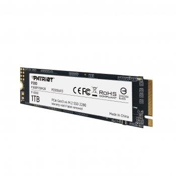 Накопичувач SSD Patriot P300 1024GB M. 2 2280 PCI Express 3.0x4 3D NAND TLC (P300P1TBM28)