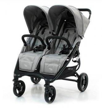 Прогулочна коляска для двійні Valco baby Snap Duo Cool Grey 2018 (9887)