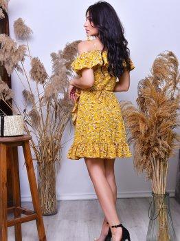 Плаття Irma Style 2003 Гірчичний