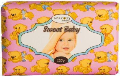 Мыло твердое Marigold natural парфюмированное Сладкий малыш 150 г (4820179550078)