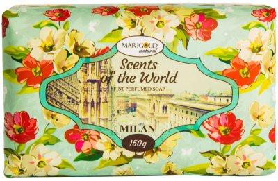 Мыло твердое Marigold natural парфюмированное Милан 150 г (4820179550054)