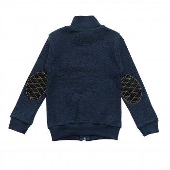 Кофта Paty Kids для мальчика Темно-синяя 11950