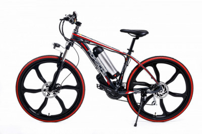 Электровелосипед Porshe electrobike RD Красный 350