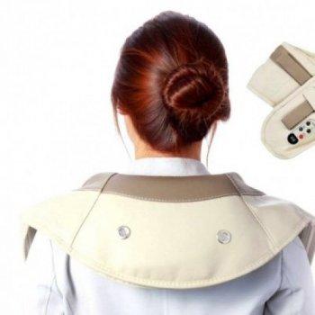 Массажер Cervical ударный Massage Shawls для шеи и плеч