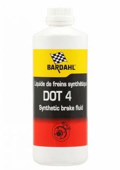 Тормозная жидкость BARDAHL BRAKE FLUID DOT 4 (500мл)