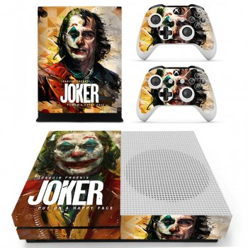 Вінілові наклейки на Xbox One S і Gamepad Joker Custom Skin Playsole Vinyls (PV5003)