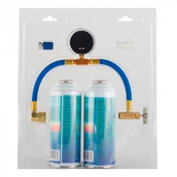 Холодоагент Natural Refrigerants Аерозольний балончик / набір для заправки автомобільного кондиціонера 500 ml ECO134 (=2,7R134)