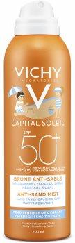 Солнцезащитный аэрозоль Vichy Idéal Soleil Anti-Sand Mist SPF 50+ Анти-песок для детей 200 мл (3337875558037)