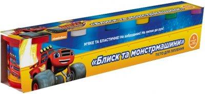Тісто для ліплення Перо Blaze and the Monster Machines Вспиш і монстрмашини 6 баночок по 50 г (120807) (4820171712887)