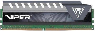 Оперативна пам'ять Patriot DDR4-2666 8192MB PC4-21300 Viper Elite Series Gray (PVE48G266C6GY)