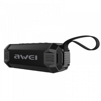 Портативна екстремальна Bluetooth колонка Awei Y280 (Bluetooth, MP3, AUX, Mic)
