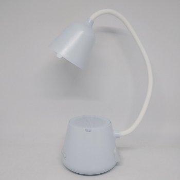 Смарт лампа колонка настільна Cydhyteam HY41 led bluetooth 5в1 портативний динамік Блакитна