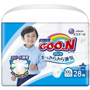 Підгузник GOO.N для хлопчиків 13-25 кг, XXL 28 шт (853884)