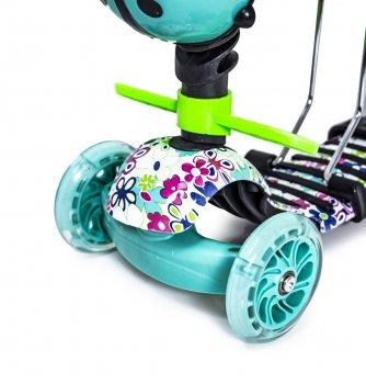 """Самокат Scooter """"Божа корівка"""" 5в1 Scale Sports Різнобарвний 000125873"""