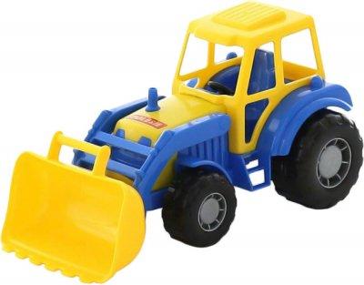 Трактор-погрузчик Polesie (Полесье) Мастер Сине-желтый (35301-3) (4810344035301-3)