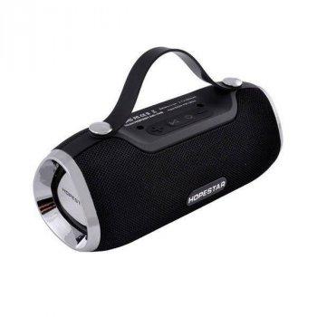 Портативна bluetooth колонка Hopestar H40 10Вт USB, FM з режимом POWERBANK black