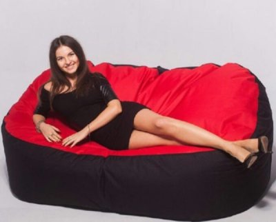 Диван BeanBag «Танго» Red/Black