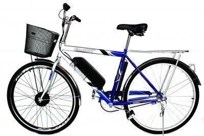 Електровелосипед Салют 28 колесо 36В 350Вт 13ah літій іонний акумулятор