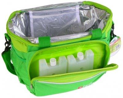 Термосумка сумка холодильник 320x250x240 мм с двумя охлаждающими блоками аккумуляторы холода Palisad Camping