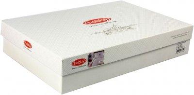 Комплект постільної білизни Hobby Exclusive Sateen Diamond Wafel Su Yesili 200х220 (8698499137790)
