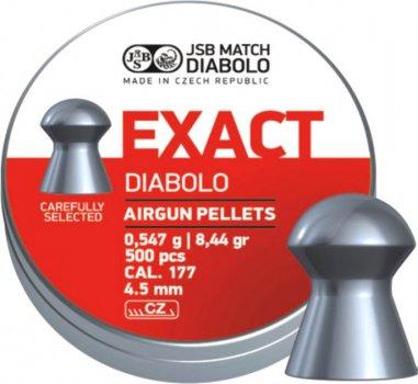 Пули пневм JSB Diablo Exact 4,5 мм 0,547 гр. (500 шт/уп)