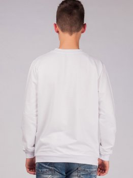 Свитшот Malta М276-13-Р1 Look-Back Белый M