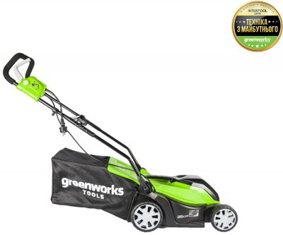 Газонокосилка электрическая Greenworks GLM1035 (2505107)