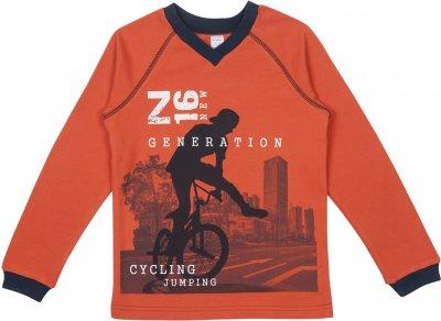 Пуловер Z16 3ІН108 (2-365) Оранжевый