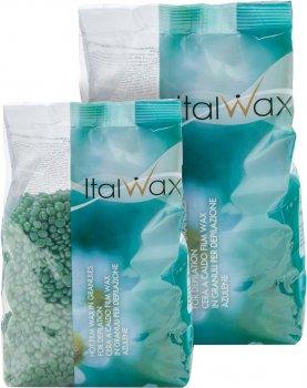 Пленочный воск для депиляции ItalWax Азулен в гранулах 500 г (8032835163195)