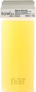 Воск для депиляции ItalWax Натуральный в картридже 100 мл (8032835160149)