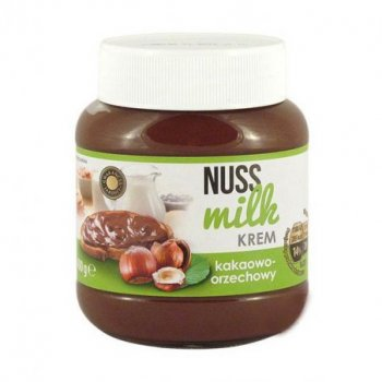 Шоколадна паста Nuss Milk какао-горіхова 400 г