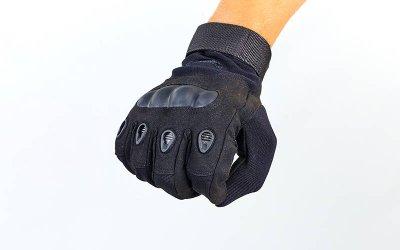 Перчатки тактические с закрытыми пальцами и усил. протектор OAKLEY BC-4623 Черный 2XL (MR03920)