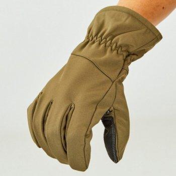 Перчатки для охоты, рыбалки и туризма теплые флисовые TY-0355 Оливковый 2XL (MR03913)