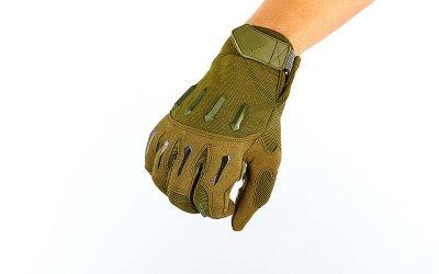 Перчатки тактические с закрытыми пальцами BLACKHAWK BC-4925 Оливковый XL (MR03949)