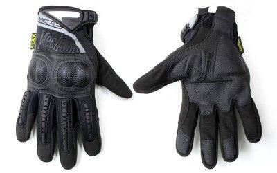 Перчатки тактические с закрытыми пальцами MECHANIX MPACT 3 BC-4923 Черный XL (MR03982)