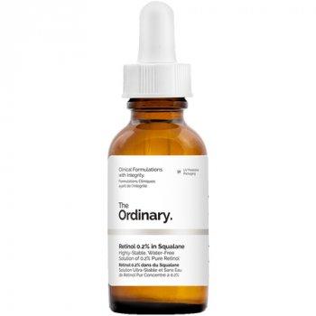 Сыворотка с ретинолом 0,2% в сквалане The Ordinary Retinol 0,2% in Squalane 30ml