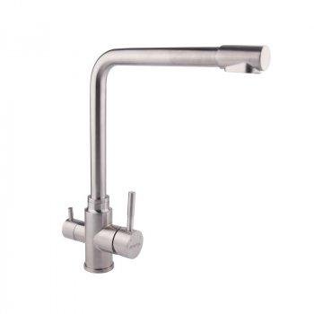 Змішувач для кухні з нержавіючої сталі Imperial (8201) 307-1 з фільтром