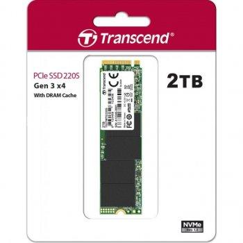 Накопитель SSD M.2 2280 2TB Transcend (TS2TMTE220S)