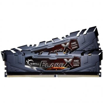 Модуль пам'яті для комп'ютера DDR4 16GB (2x8GB) 3200 MHz FlareX Black G. Skill (F4-3200C16D-16GFX)
